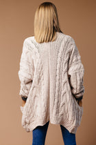 Kit Cable Knit Cardigan