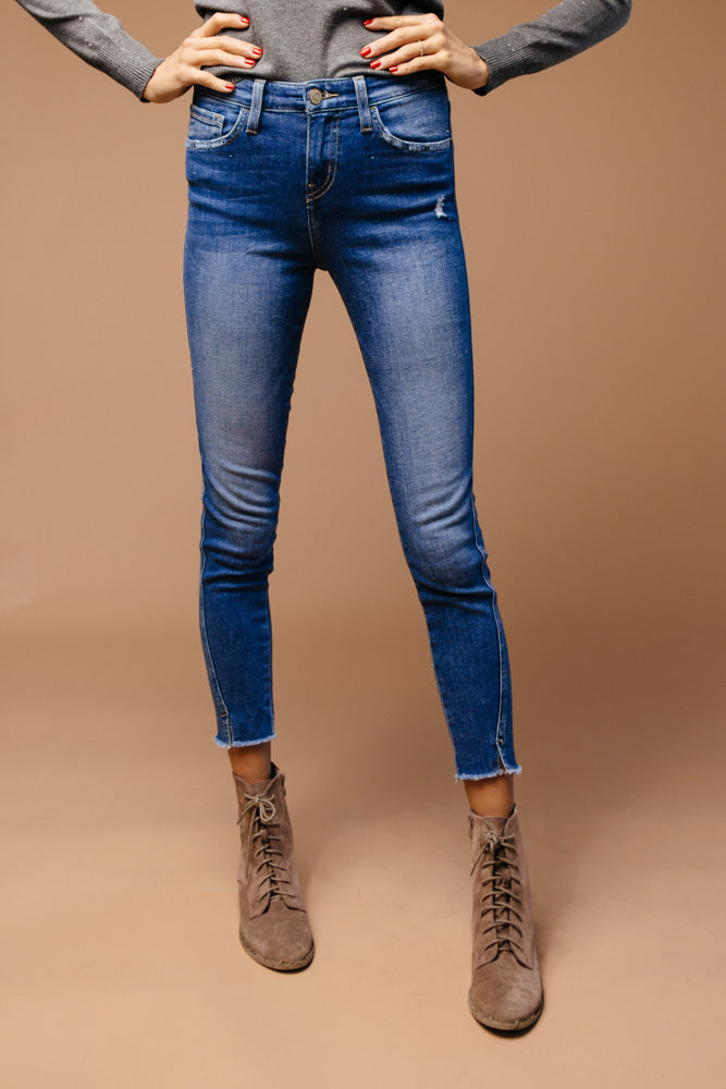 Flying Monkey Angled Outseam Skinny Jeans