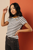striped t-shirt bohme