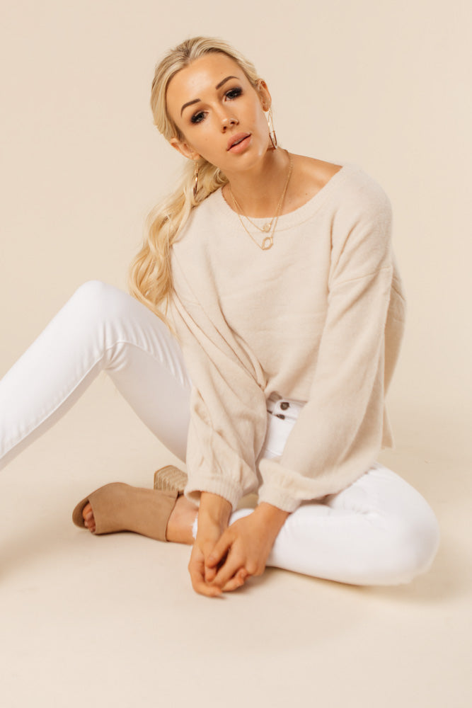 Bare Necessity Cropped Sweater