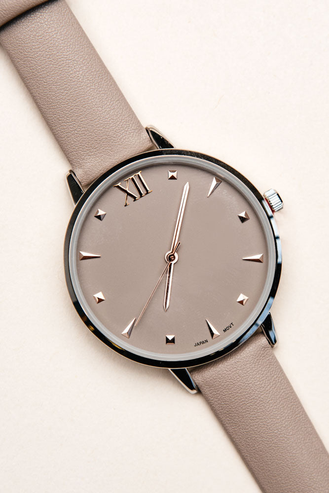 taupe watch bohme