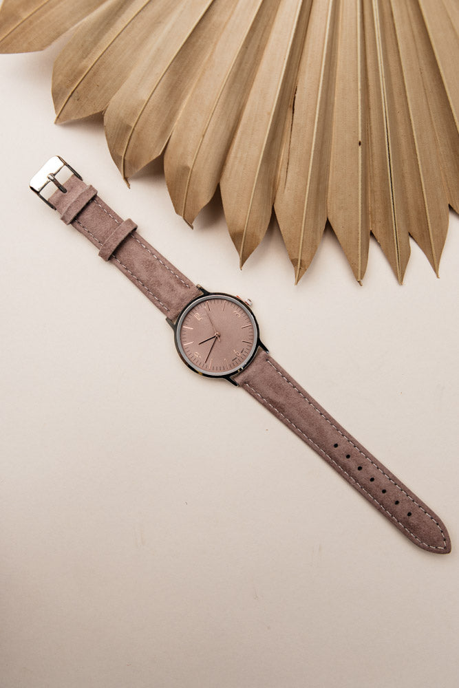 suede watch bohme