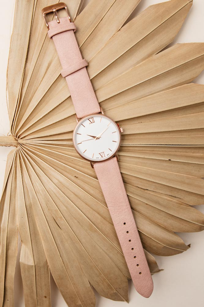 rose gold watch bohme