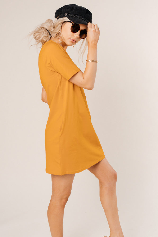 mini t-shirt dress bohme