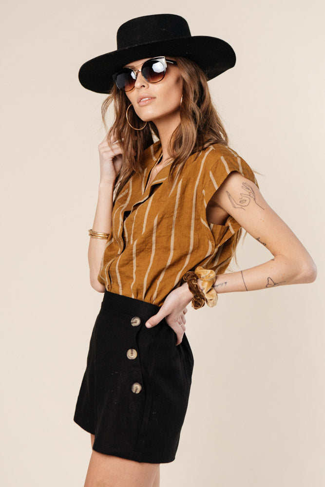 Sam Striped Button Down - FINAL SALE