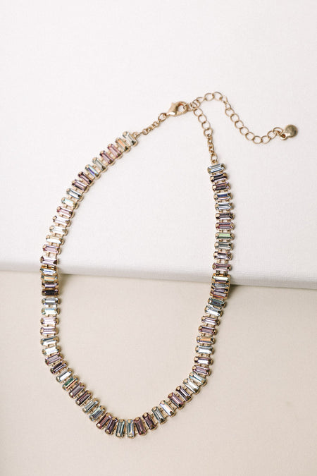 Multicolored Jewel Necklace
