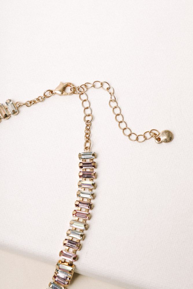 Rees Jewel Necklace in Multi