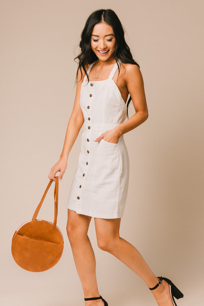 button down dress bohme