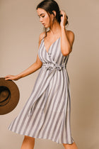 v neck dress bohme