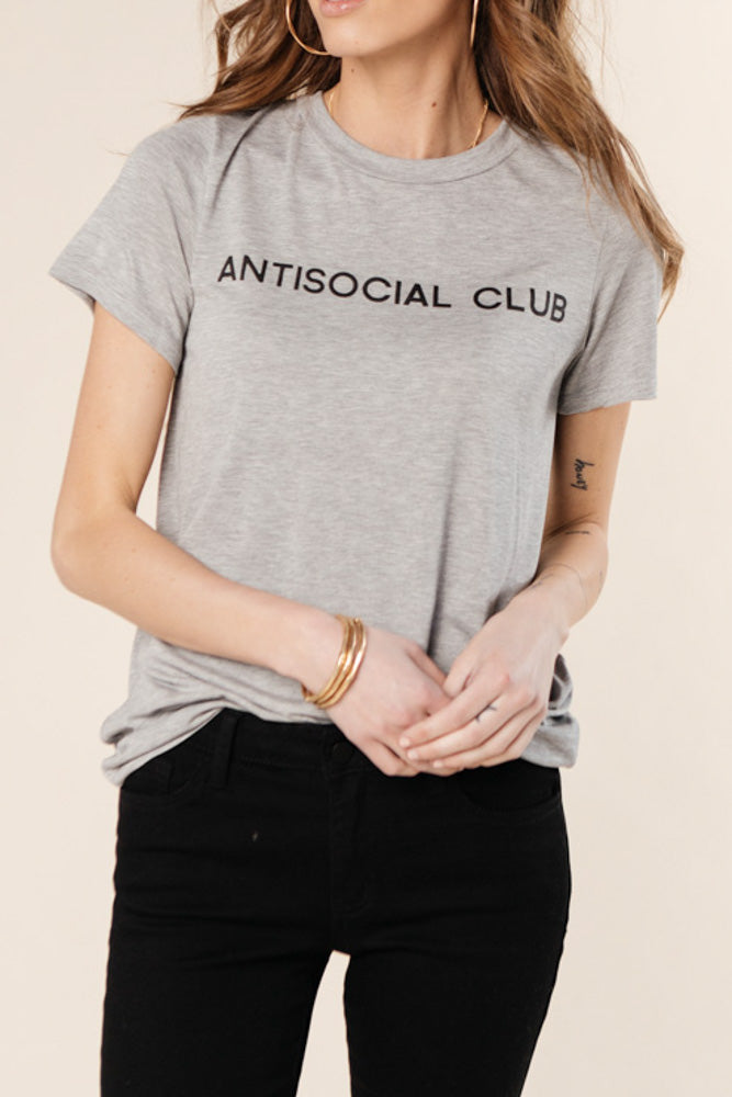 Antisocial Club Graphic Tee