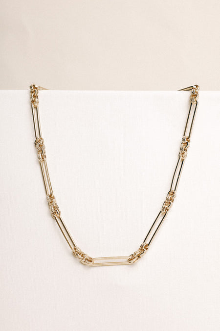 Short Gold Chain Necklace