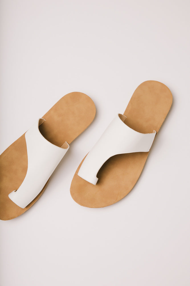 White Sandals Bohme