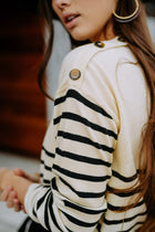 Claire Stripe Sweater