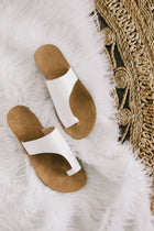Jenasie Sandal in White