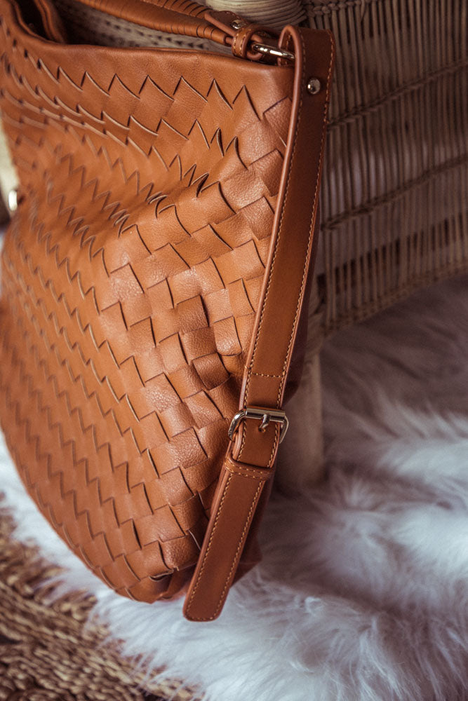 Quincy Woven Tote