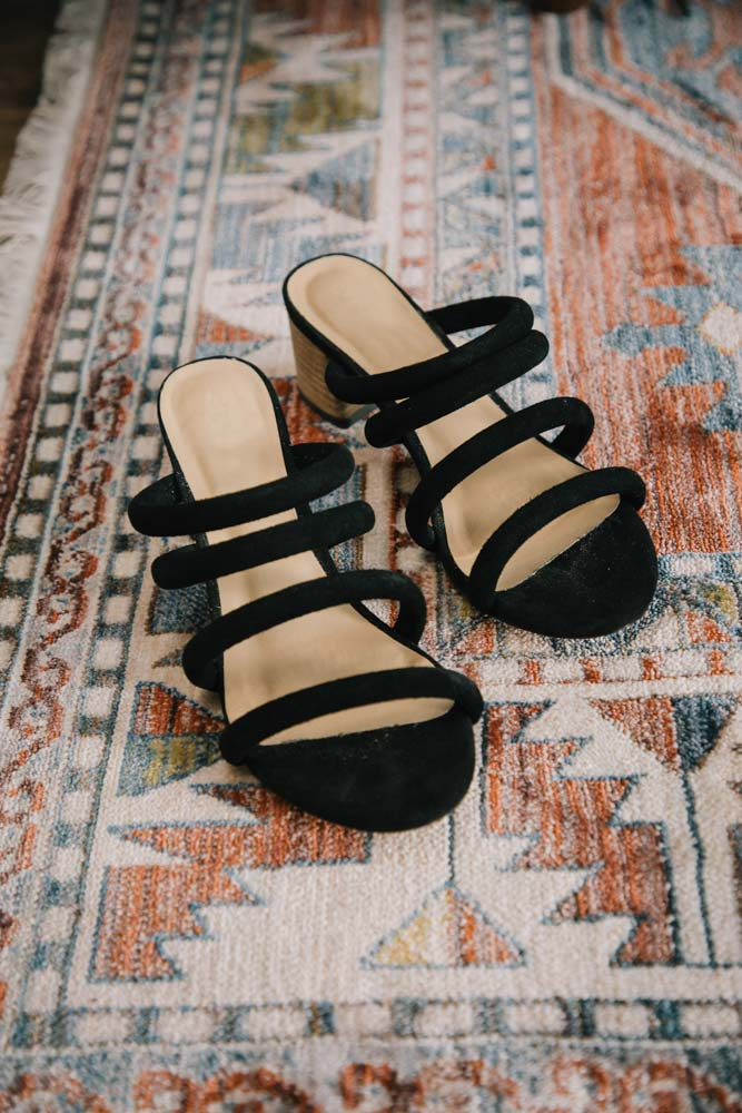 Black Strappy Shoes Bohme
