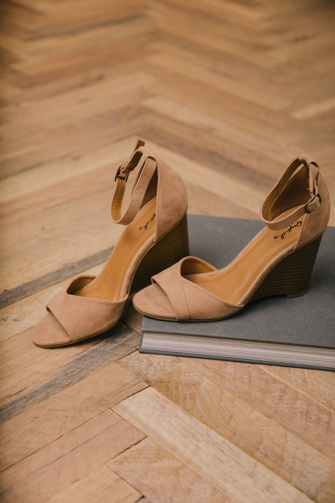 Brody Ankle Strap Wedge