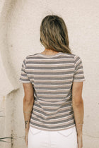Theo Striped Tee