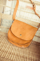 Bohme Genuine Leather Satchel In Brown