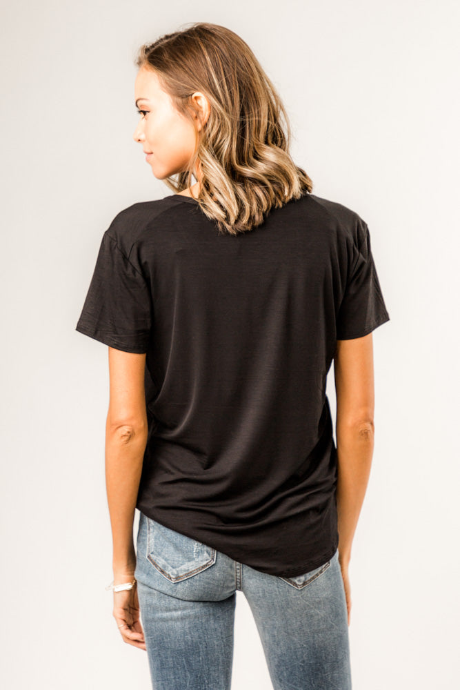 The Basics Tee in Black