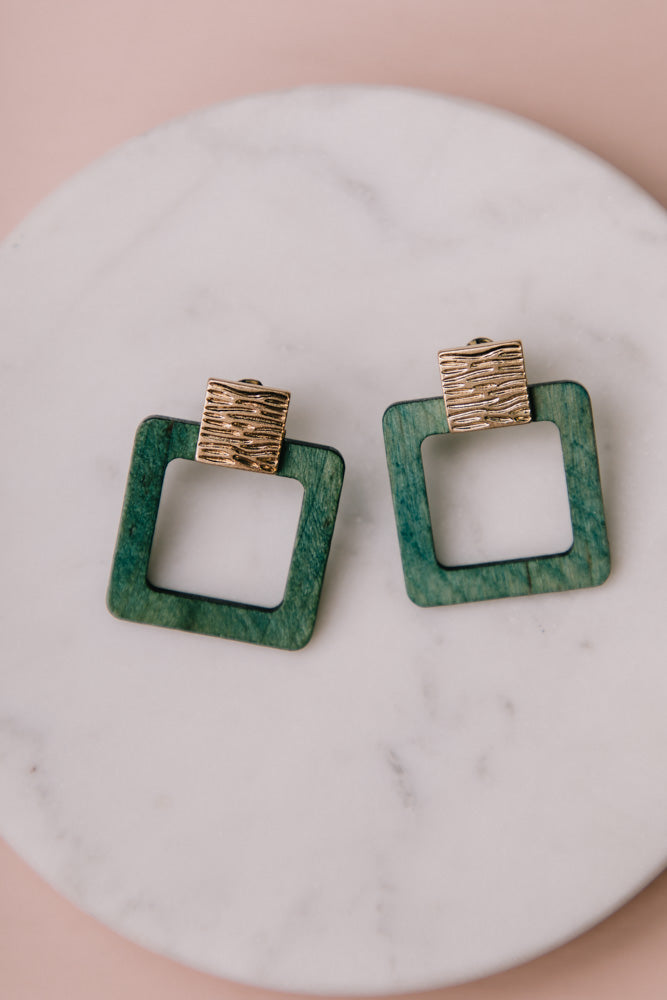 Emerald Earrings Bohme