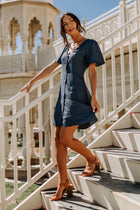 Jane Button Down Dress