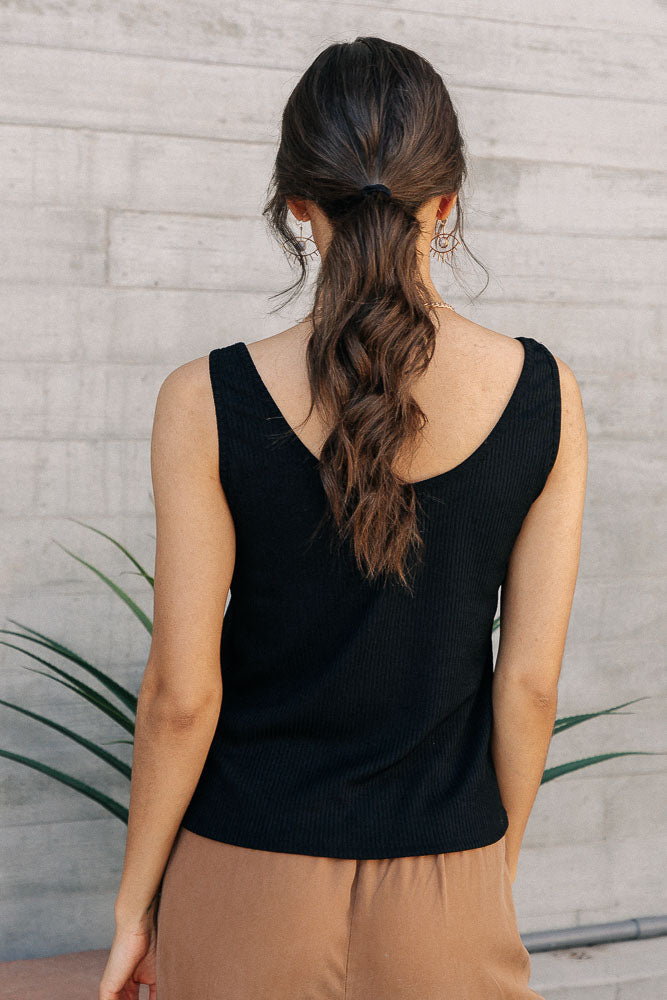 Vero Moda Hanna Tank in Black