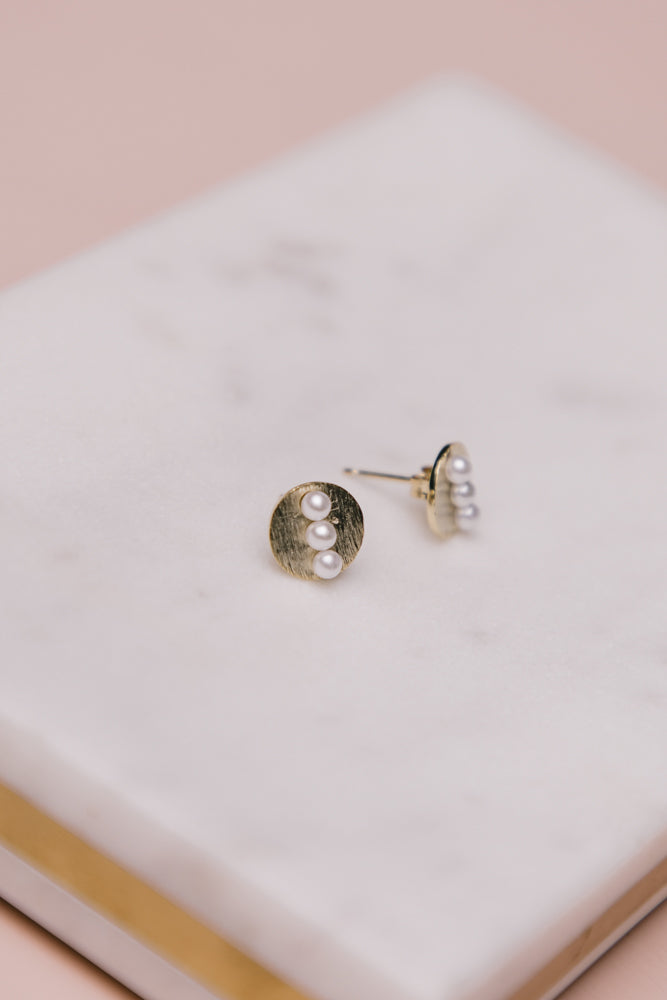 stud earrings bohme