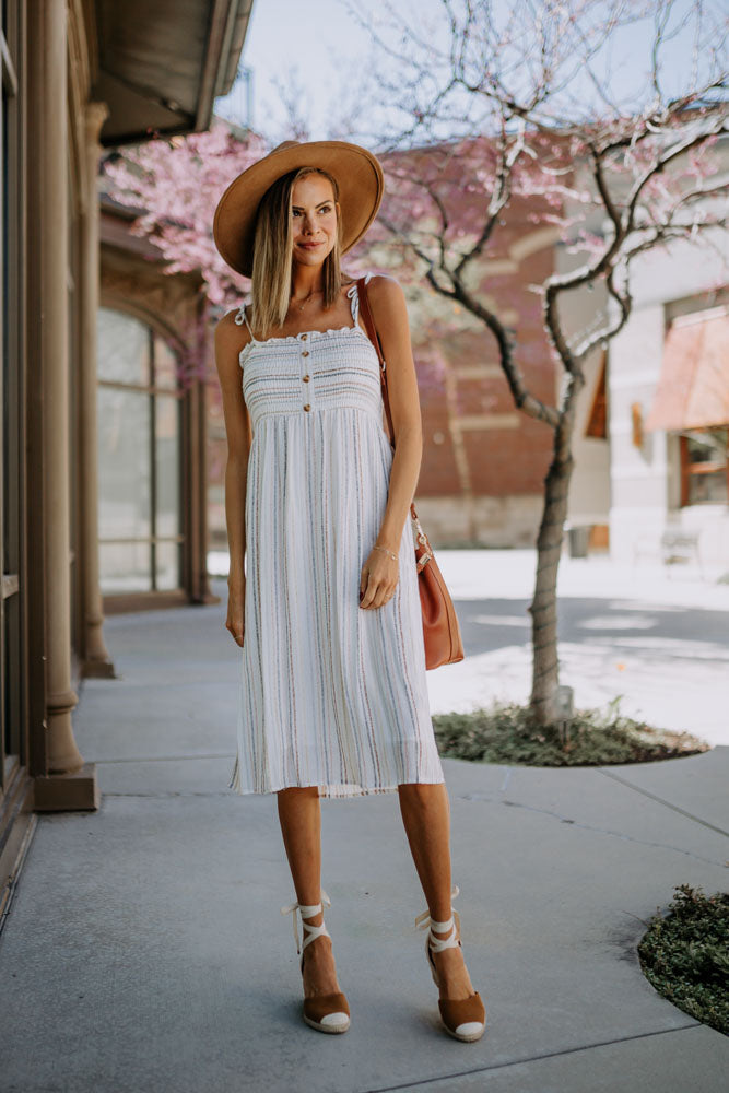So Easy Striped Dress