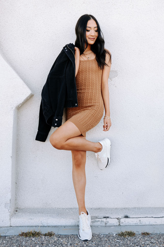 Sian Cable Knit Dress
