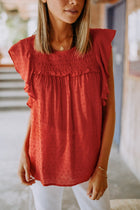 Tristen Dot Blouse
