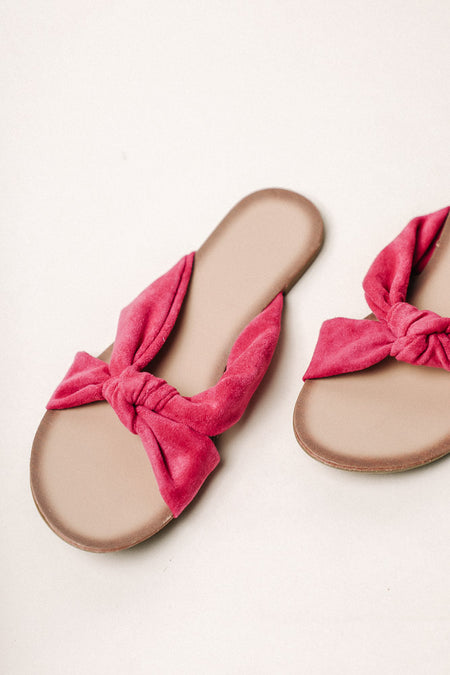 Cora Knotted Sandal in Pink - FINAL SALE