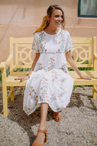 Sunny Days Embroidered Dress