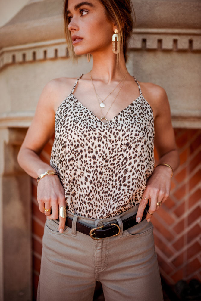 Lia Cheetah Print Tank - FINAL SALE