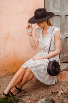 Freya Ruffle Dot Dress
