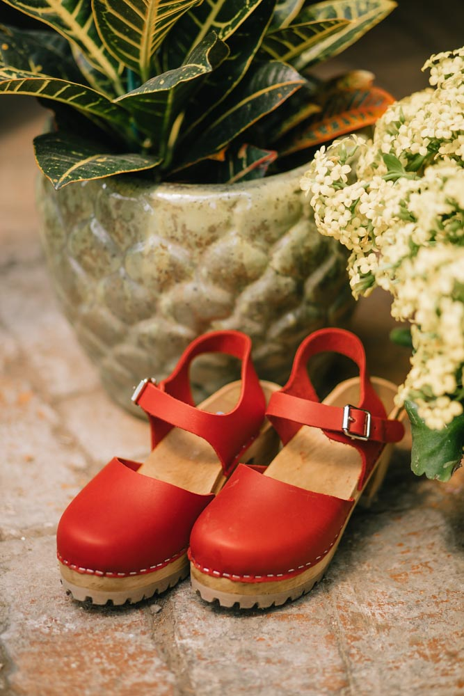MIA Abba Clogs in Red
