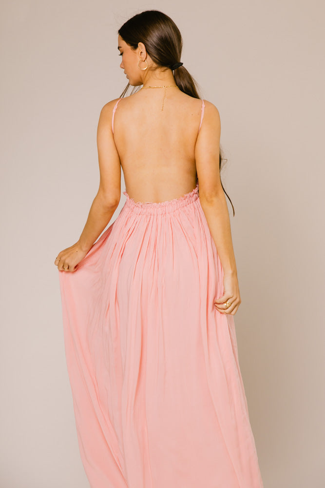 Penny Maxi Dress in Pink
