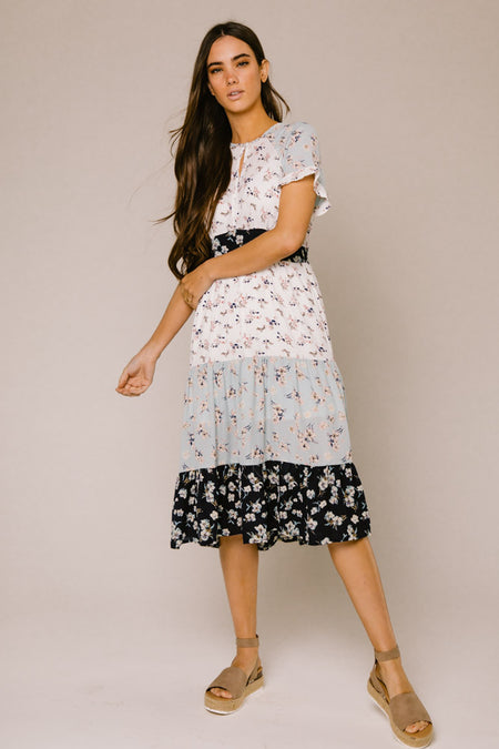 93dadf01044a Diana Tiered Midi Dress (Online Only!)