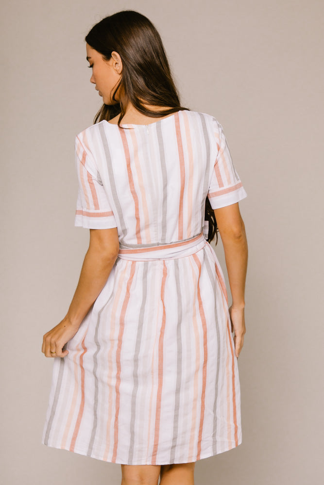 Julia Striped Dress