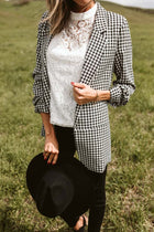Heather Gingham Blazer
