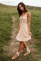 Francine Striped Mini Dress