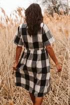 Nellie Plaid Dress