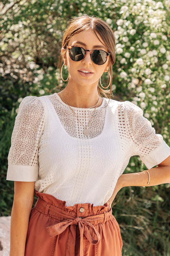 Vero Moda Lace Blouse - FINAL SALE