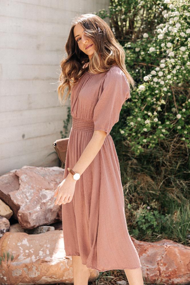 Delilah Midi Dress