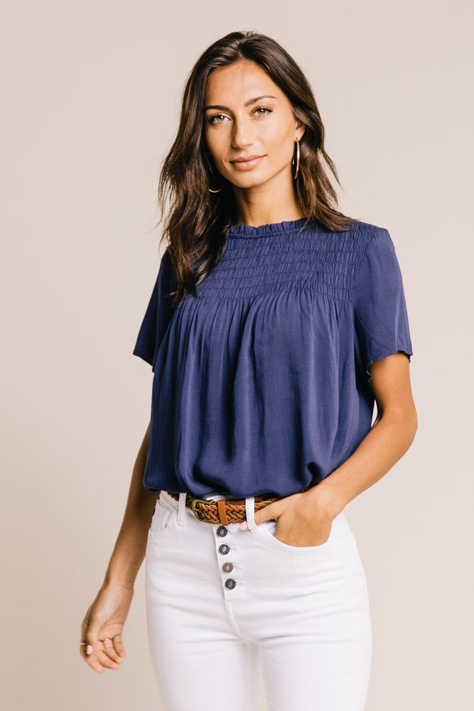 Kopa Top in Navy