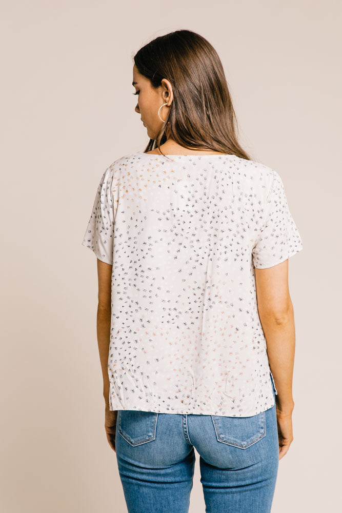 Tia Patterned Top
