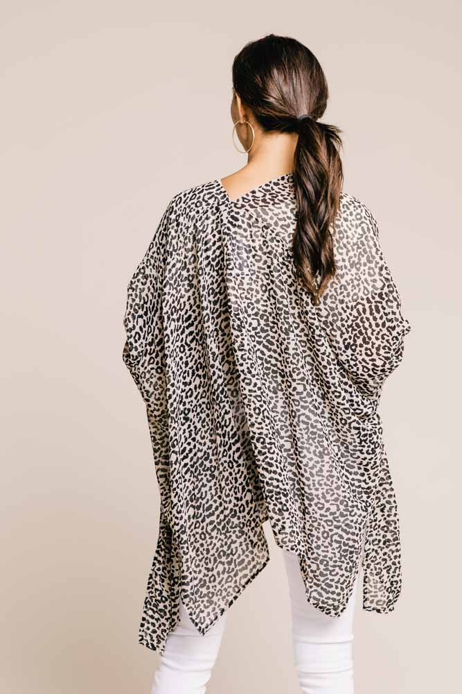 Spotted Leopard Kimono (Online Only!)