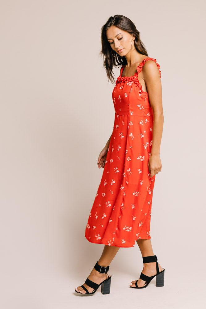 Mariana Floral Midi Dress - Final Sale