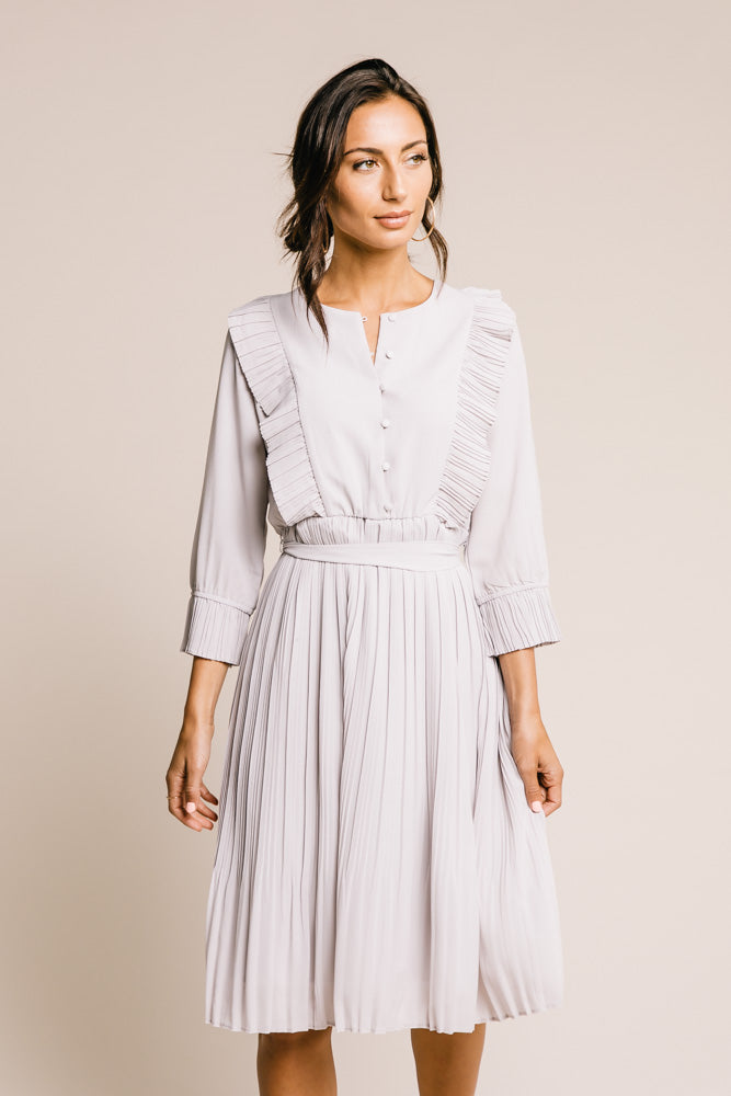 Lara Ruffle Sleeve Dress - Final Sale