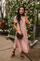 Emma Tiered Midi Dress